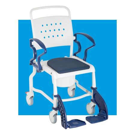 Chaise douche-toilettes