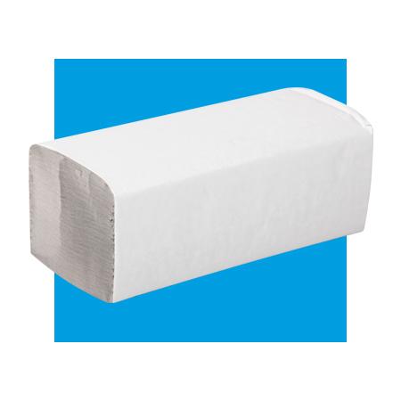 Serviettes en papier pliés