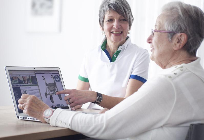Boutique en ligne de solutions dédiées aux soins à domicile