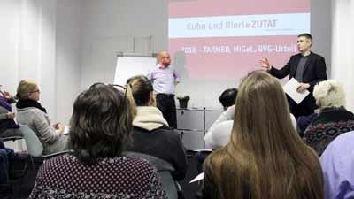 Schulung Tarmed, MIGEL, BVG-Urteil